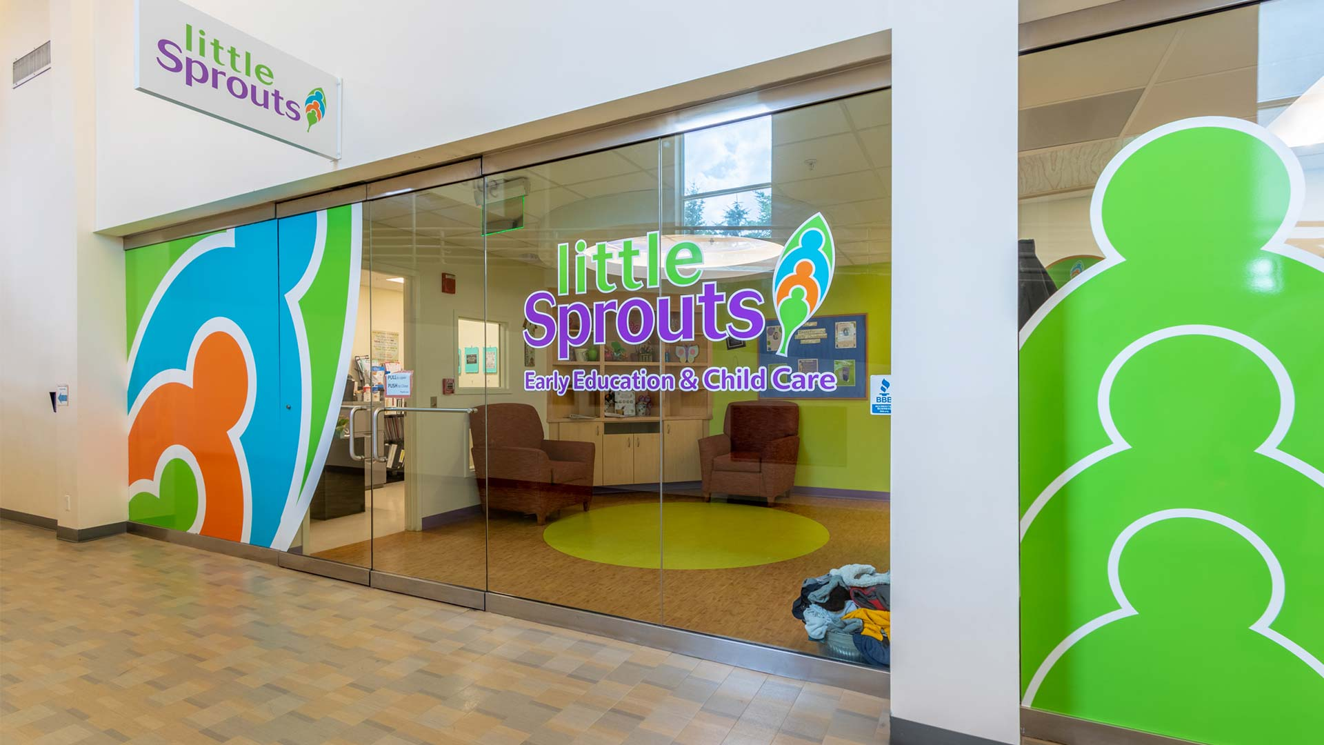 Little Sprouts child care at Cross Point